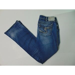 Silver 31 x 35 Tuesday Low Boot Blue Jeans Bootcut